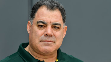 Chairman Mal: Meninga has been headhunted to head up the NRL coaches' union.