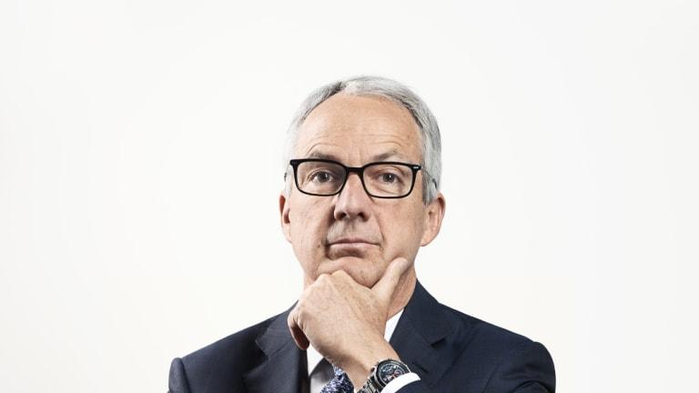 Recently departed Macquarie Bank CEO Nicholas Moore.