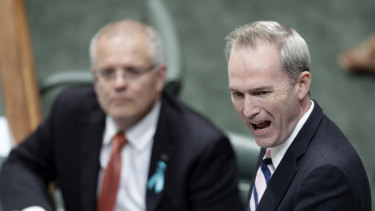 Immigration Minister David Coleman, right, and Prime Minister Scott Morrison commissioned the review last year.