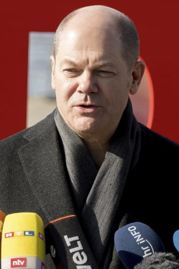 """""""We now have clarity,"""" interim Social Democratic chairman Olaf Scholz said. """"The SPD will join the next government."""""""