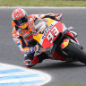 Marquez in a league of his own at Phillip Island