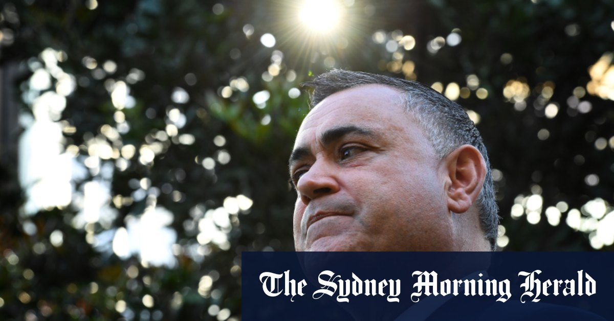 Barilaro back from leave says he is worried for Premier's mental health – Sydney Morning Herald