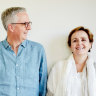 Mark and Briony Scott: on a learning curve - just don't mention NAPLAN