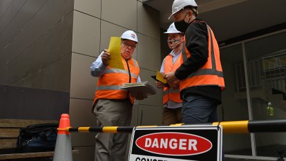 'Disgracefully slow': Work starts on project to remove flammable cladding