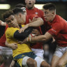 'It hurts': Wallabies lose to Wales for first time in 10 years