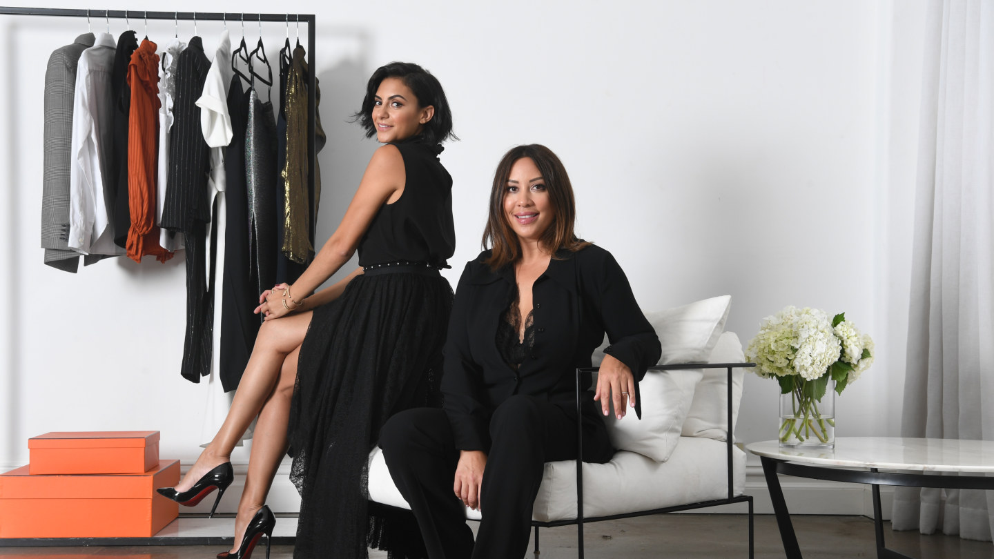 Natalie Shehata and Shannon Killeen, founders of new styling service The Quarterly Edit.