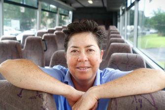 In tears: Pauline Menczer
