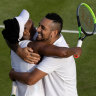 'She was just laughing at my accent': Kyrgios-Williams combination lights up Wimbledon