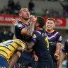 Ruthless Storm dominate Eels, put premiership bid back on track