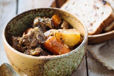 Adam Liaw's brown butter beef stew.