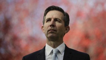 "Trade Minister Simon Birmingham: ""China should rule out any use of discriminatory actions against Australian cotton producers."""