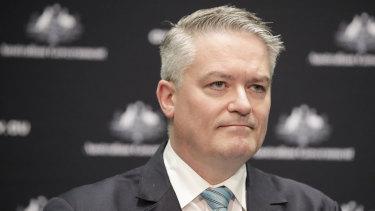 Minister for Finance Mathias Cormann.