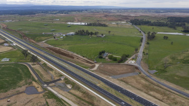 The federal government bought 12 hectares of land dubbed the Leppington Triangle, near Badgery's Creek, for $32.8 million in 2018.