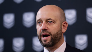 NRL CEO Todd Greenberg has told staff to take annual leave immediately.