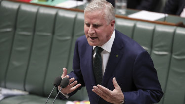 Deputy Prime Minister Michael McCormack attacked the Greens.