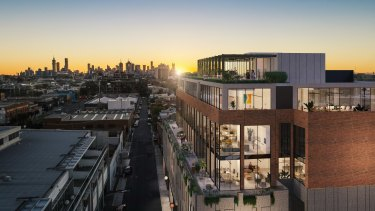 MAB's new office project,Yarraberg, in North Richmond.