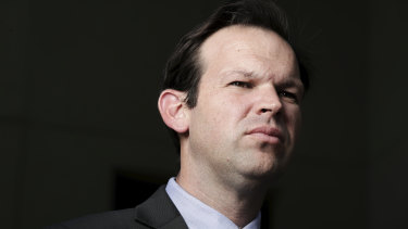 Nationals senator Matt Canavan has refused to rule out leadership ambitions.