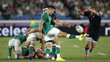 Ireland's Conor Murray in action.