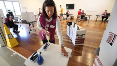 Many people have avoided polling places during the pandemic by voting early by mail.