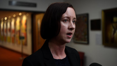Queensland Attorney-General Yvette D'Ath says the laws will help victims of institutional abuse access compensation..