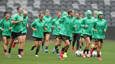 The Matildas could have a new training base in Sydney for the 2023 Women's World Cup.