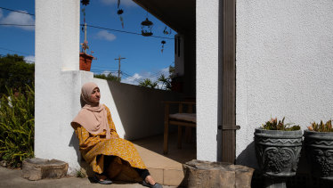 Fatma Hafda, a teacher, sat her HSC amid the global uncertainty caused by the September 11 attacks
