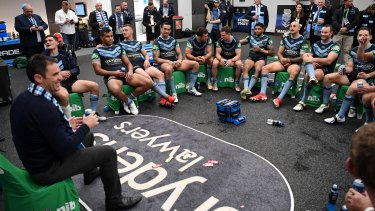 In his element: Fittler is still in the prime of his youth in coaching terms.