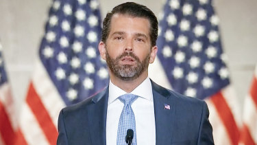 Donald Trump jnr shared some of the bad information.