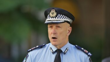 Deputy Police Commissioner Steve Gollschewski said almost 600 people were denied entry into Queensland during the long weekend.