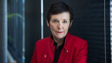 The Morrison government seized on a recommendation last year from small business Ombudsman, Kate Carnell, for a government-backed growth fund.