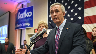John Katko said voted against a sitting president of his own party.