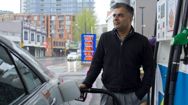 Taxi driver Amit Batta said even a small increase would hurt his business.