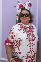 Gina Rinehart at the Birdcage on Tuesday.