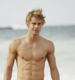 Luke Mitchell as Romeo in Home and Away.