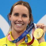 Golden girl Emma McKeon.