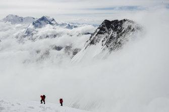 Gran altitud: una escena de la primera colaboración de Peedom con