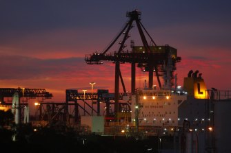 Sydney's Port Botany was privatised in 2013.