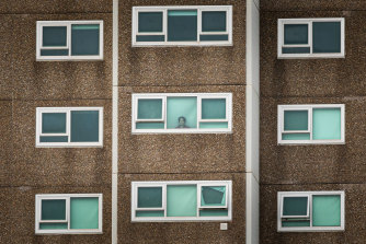 The government was highly criticised for its handling of the lockdown of nine public housing towers in winter last year.