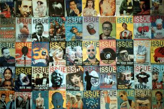 Covers of The Big Issue