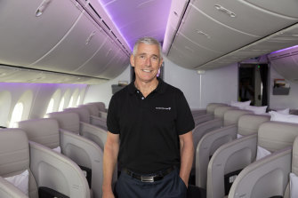 Air New Zealand chief executive Greg Foran.