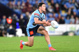 Brad Fittler's halves call quickly came under fire during Wednesday night's came as the duo struggled to click early on.