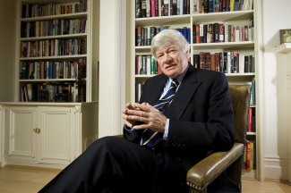 Human rights lawyer Geoffrey Robertson, QC, has represented Julian Assange, among others.