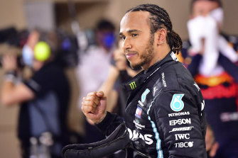 It's the second time Lewis Hamilton has won the highly regarded prize.