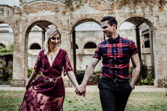 Ashley and Ben Murray met on Tinder in 2016.