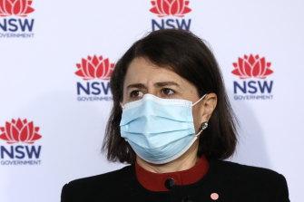 A majority of voters believe that Sydney was too slow to go into lockdown but Premier Gladys Berejiklian remains popular.
