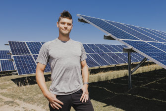 Sunny side up: Solcast co-founder, Nick Engerer, is working on technology to improve forecasting of weather changes to assist the integration of more renewable energy.