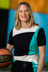 Basketball Australia CEO Jerril Rechter.