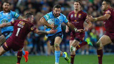 James Tedesco was given his opportunity in game three.