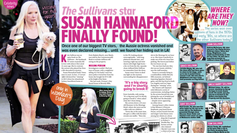 Susan Hannaford has become something of a tabloid magazine's dream.