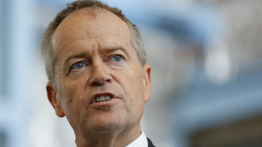 Labor leader Bill Shorten repudiated the ACTU's position on preferences, saying One Nation should be put last.